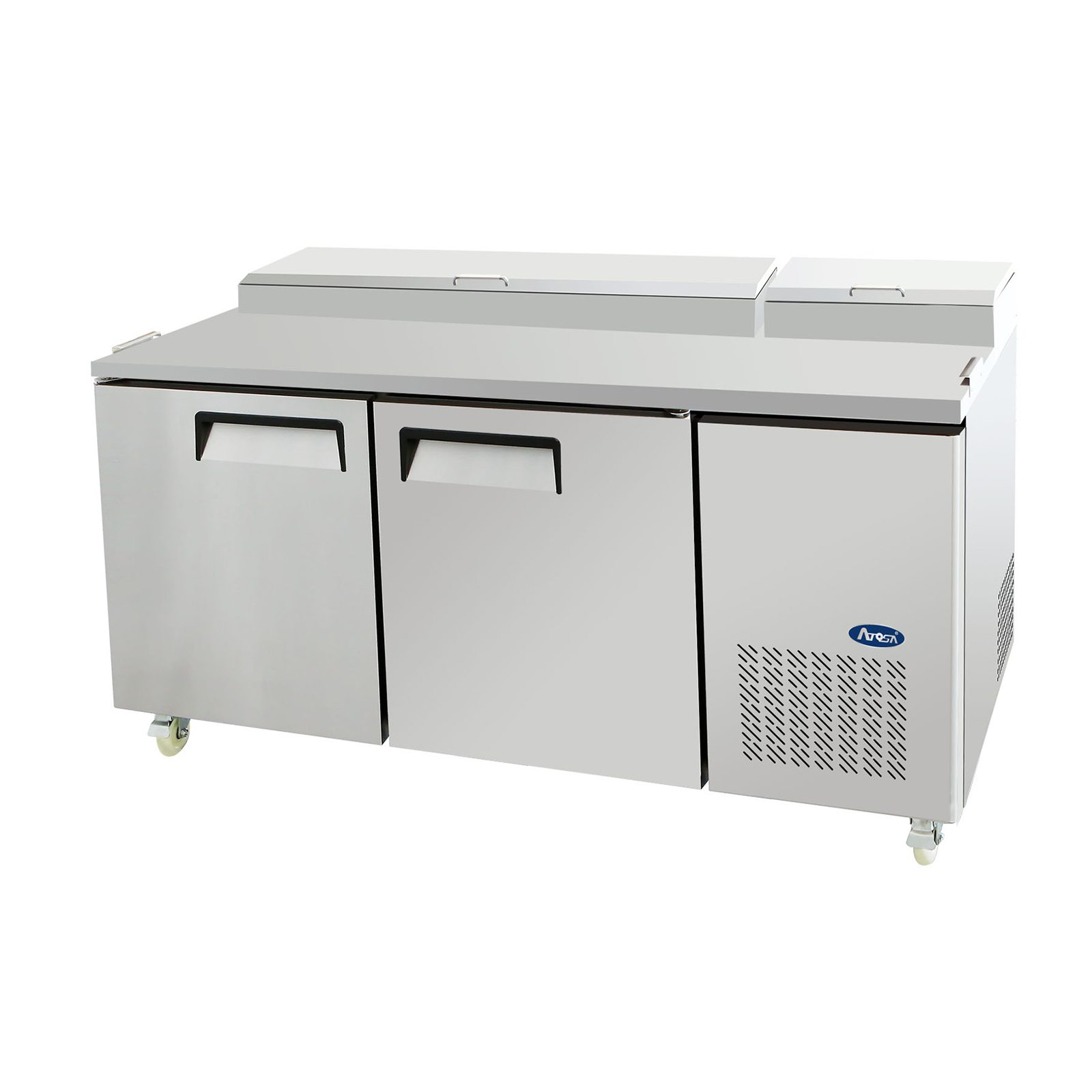 Atosa MPF Refrigerated Pizza Prep Table Wilson Restaurant - Restaurant supply prep table
